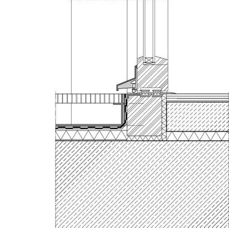 Terrasse Detail by Entw 228 Sserungsrinne Detail Hrbayt