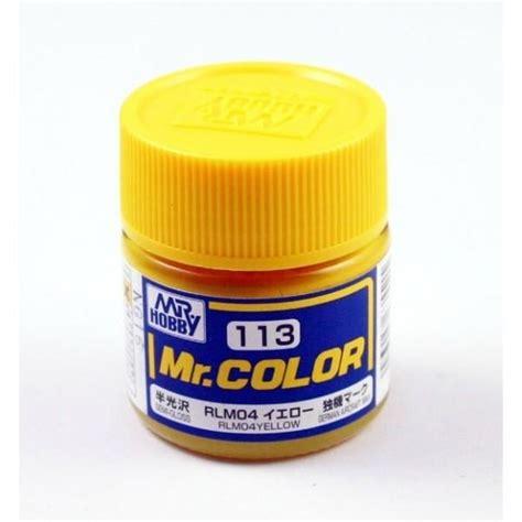 Sale Mr Color 7 mr color 113 rlm04 yellow end 1 9 2018 7 15 pm