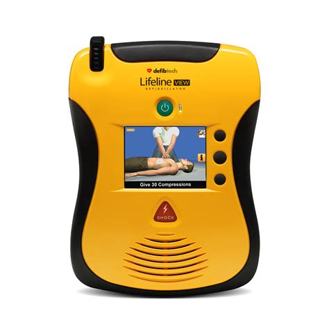 defibtech lifeline view operator s defibtech lifeline view aed at mediquest