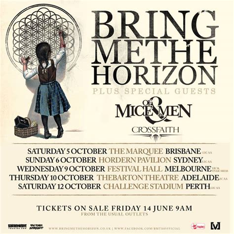Poster Bring Me The Horizon 02 Jumbo Size 50 X 70 Cm bring me the horizon australian tour 2013