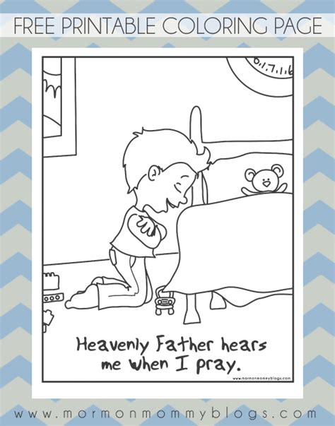 the our father prayer coloring pages