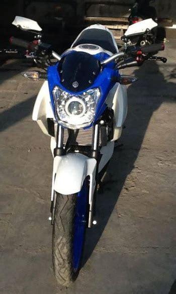 Lu Hid New Vixion Lightning modifikasi yamaha new vixion lightning half fairing ala