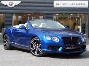 Bentley Convertible Baby Blue Used 2013 63 Reg Sequin Blue Bentley Continental Gt V8