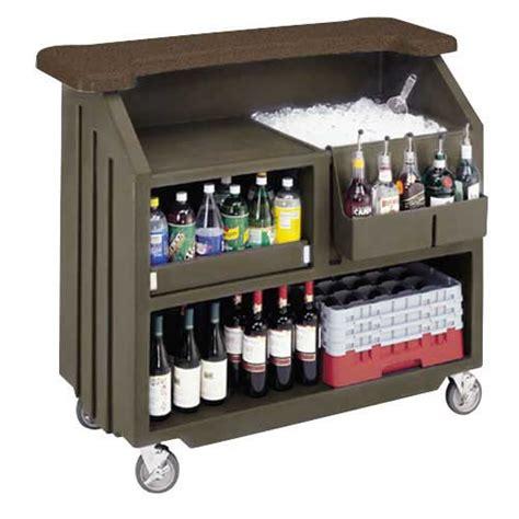 Movable Bar Cambro Bar540ds 54 Quot Economy Portable Bar Cambar 174