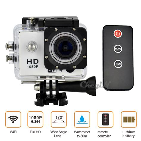 Sports Hd 1080p Waterproof 30m new 1080p wifi 12mp sport ir remote