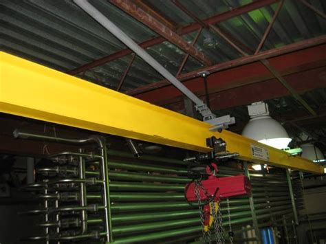 Structural Ceiling by Structural Ceiling Mounted Monorail Crane Systems The