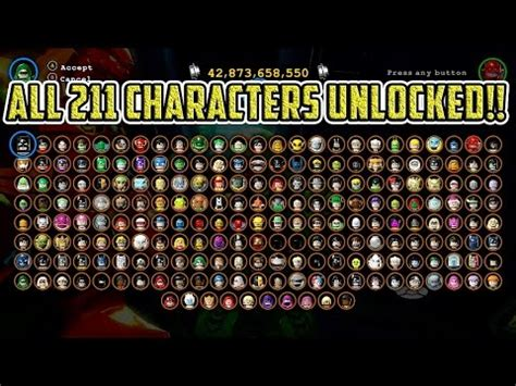 lego batman 3: beyond gotham all 211 characters unlocked
