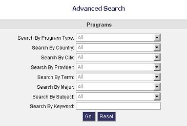 Ca State Advanced Search Application
