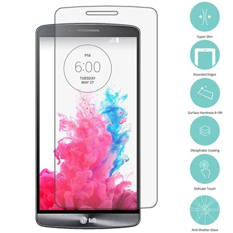 Tempered Glass Screen Protection For Lg G3 4x real premium tempered glass screen protector for lg g3 ebay