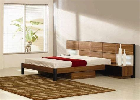 italian quality wood high end platform bed with