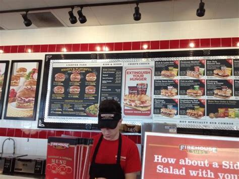 fire house subs menu club on a sub picture of firehouse subs bowling green tripadvisor