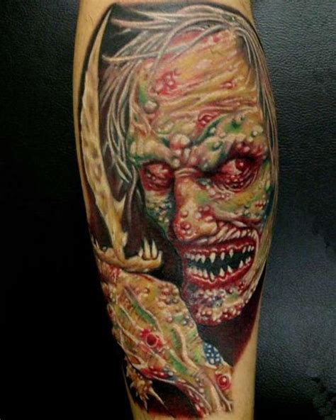 tattoo zombie pictures zombie tattoos zombie pictures