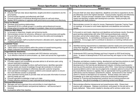 individual development plan template for managers personal development plan for managers search