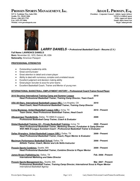 Sports Administration Cover Letter by Sports Management Resume The Letter Sle