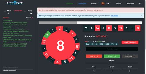 Csgo Roulette Site Template One More Step Csgo Website Template