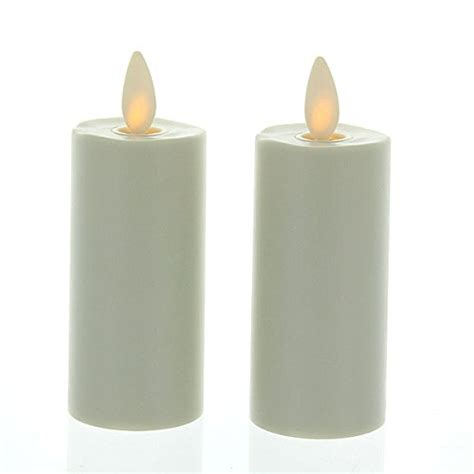 luminara candles luminara votive candle set of 2 ivory moving wick candles 1 5 quot x 3 quot with time ebay