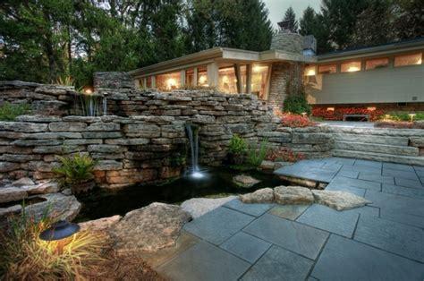 Wasserfall Im Garten Selber Bauen 2643 wasserfall im garten mehr als 70 ideen archzine net