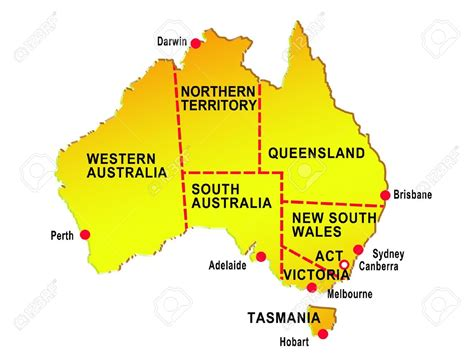 major cities in australia map map of australia cities grahamdennis me