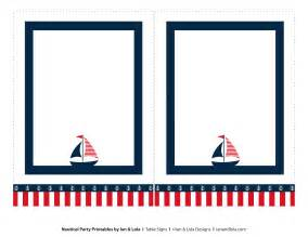 nautical template free nautical printables from ian lola designs