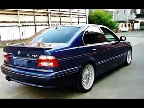 bmw alpina b10 v8s 4.8l (e39) quick look youtube