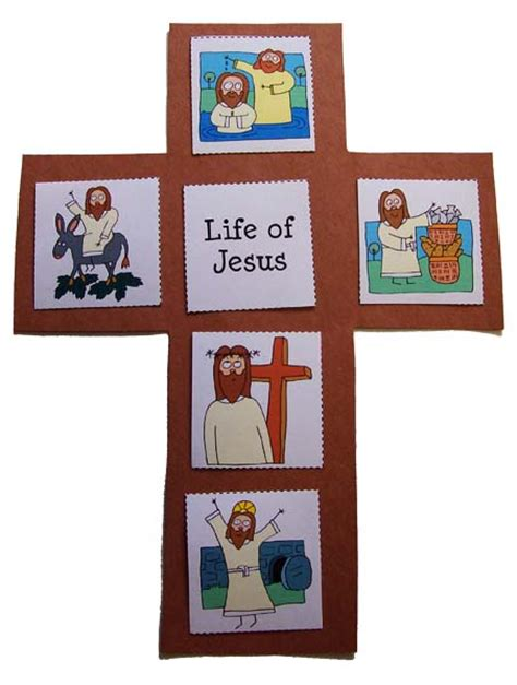 themes of the story god lives in the panch easter life of jesus cross prekinders