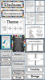 themes in the book matched theme in literature theme match foldables writing