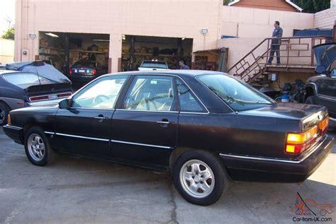 manual cars for sale 1987 audi 5000cs windshield wipe control 1987 audi 5000cs turbo quattro five speed manual black black rare