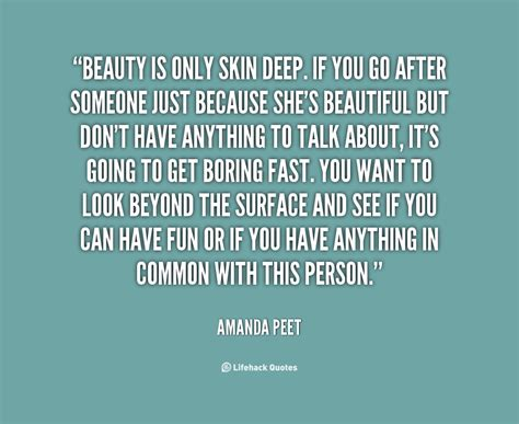 beauty is only skin deep quotes quotesgram