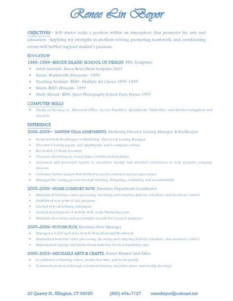 Rental Sle Resume by Leasing Resume Jvwithmenow