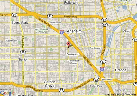 map of anaheim california map of anaheim ca images