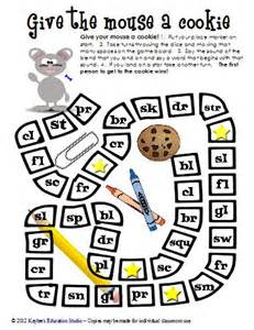 Initial consonant blends game boards kaylee s education studio