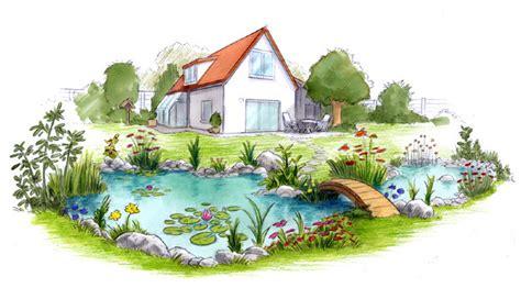 Garten Comic by Gartenteich Jojo Sich