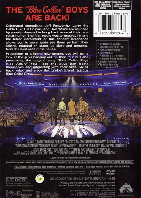 Dvd M 228 Rchen Box Blue Collar Comedy Tour Rides Again Dvd