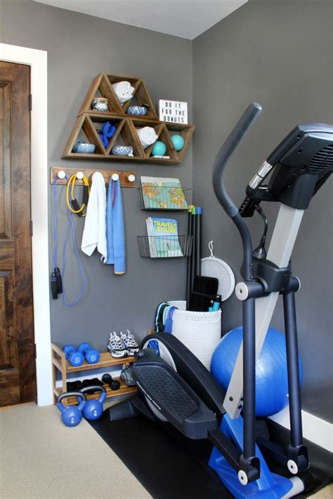 stylish home gym ideas  small spaces workout room