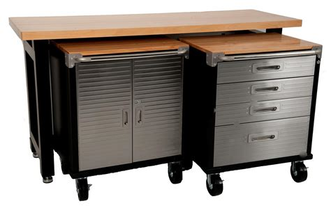 work bench cabinets maxim garage storage system workbench cabinet toolbox shed