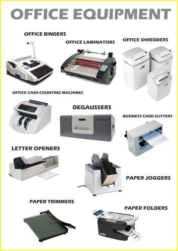 office equipment currency counting machines shredders