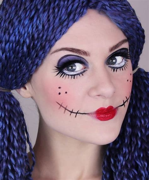 tutorial makeup halloween doll rag doll makeup for halloween try it with crcmakeup com