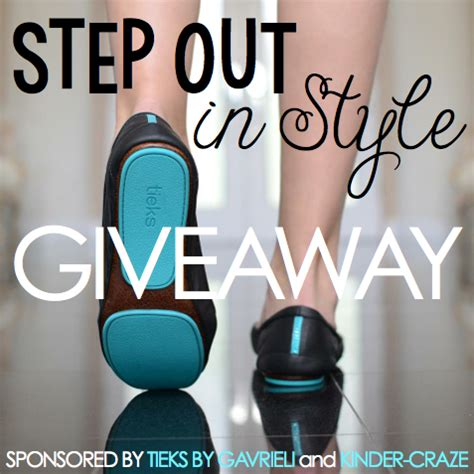 Tieks Gift Card - step out in style tieks giveaway