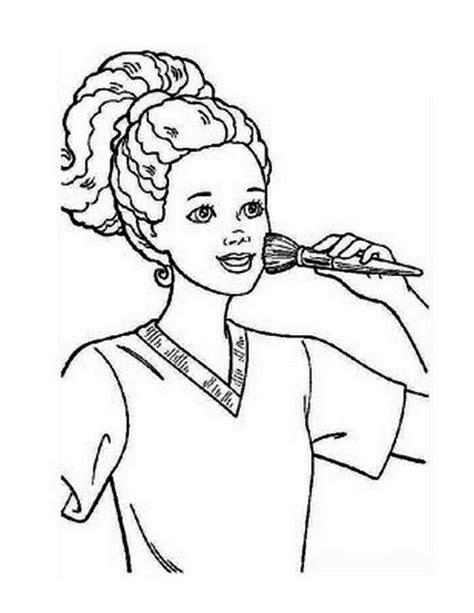 Agenda di Margherita: Disegni da colorare Barbie