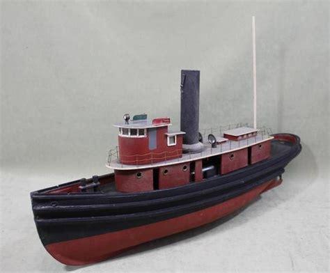 tugboat as jaya 2 vintage live steam engine wood tugboat ship pond model nr