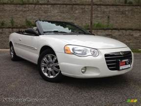 2004 Chrysler Sebring Convertible Limited 2004 Chrysler Sebring Limited Convertible In White