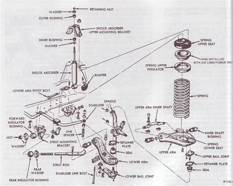 front suspension diagram 2003 mustang front suspension schematic autos post