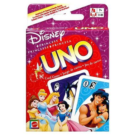 Disney Uno Mattel disney princess uno card mattel disney at entertainment earth
