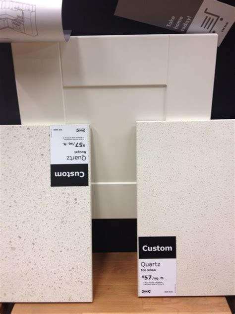 Ikea Kitchen Countertops Quartz by Snow And Countertops On
