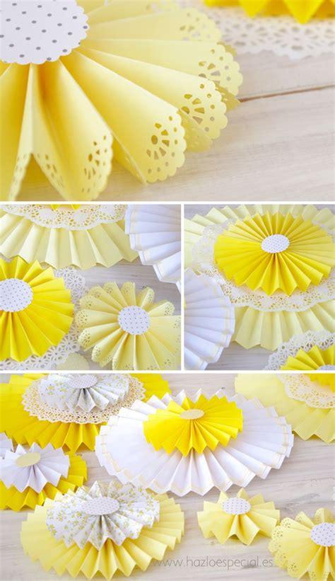 como hacer decoraciones con papel las 25 mejores ideas sobre blondas en pinterest