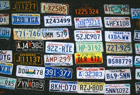 all 50 united states license plates ranked thrillist