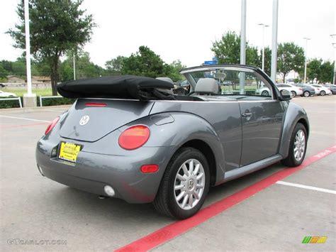 grey volkswagen bug 2005 platinum grey metallic volkswagen new beetle gls