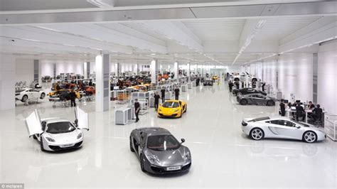 mclaren factory interior mclaren s 50th birthday inside futuristic formula one