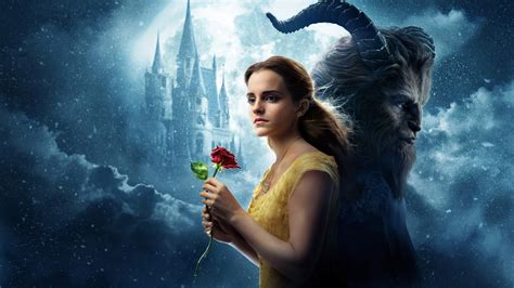 beauty and the beast images beauty and the beast on wallpaper beauty and the beast belle emma watson 4k 8k