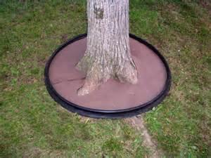 Landscape Edging Around Tree Roots Dewitt Tree Ring Planter